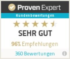 Nutzerbewertung Proven Expert