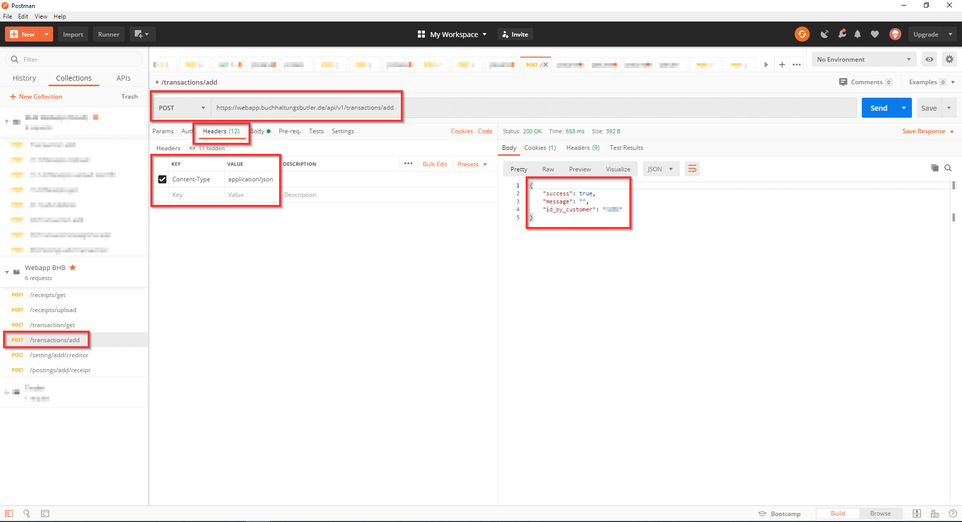 Postman testing Api Requests Header Screenshot 4