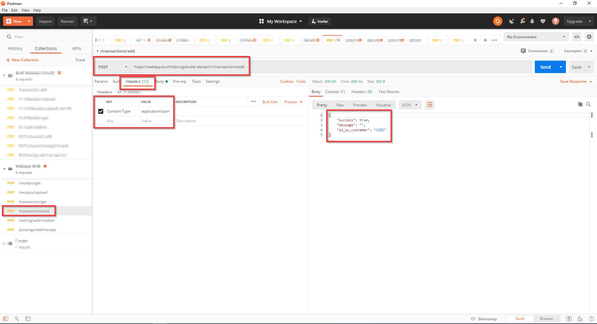 Postman testing Api Requests Header Screenshot 4