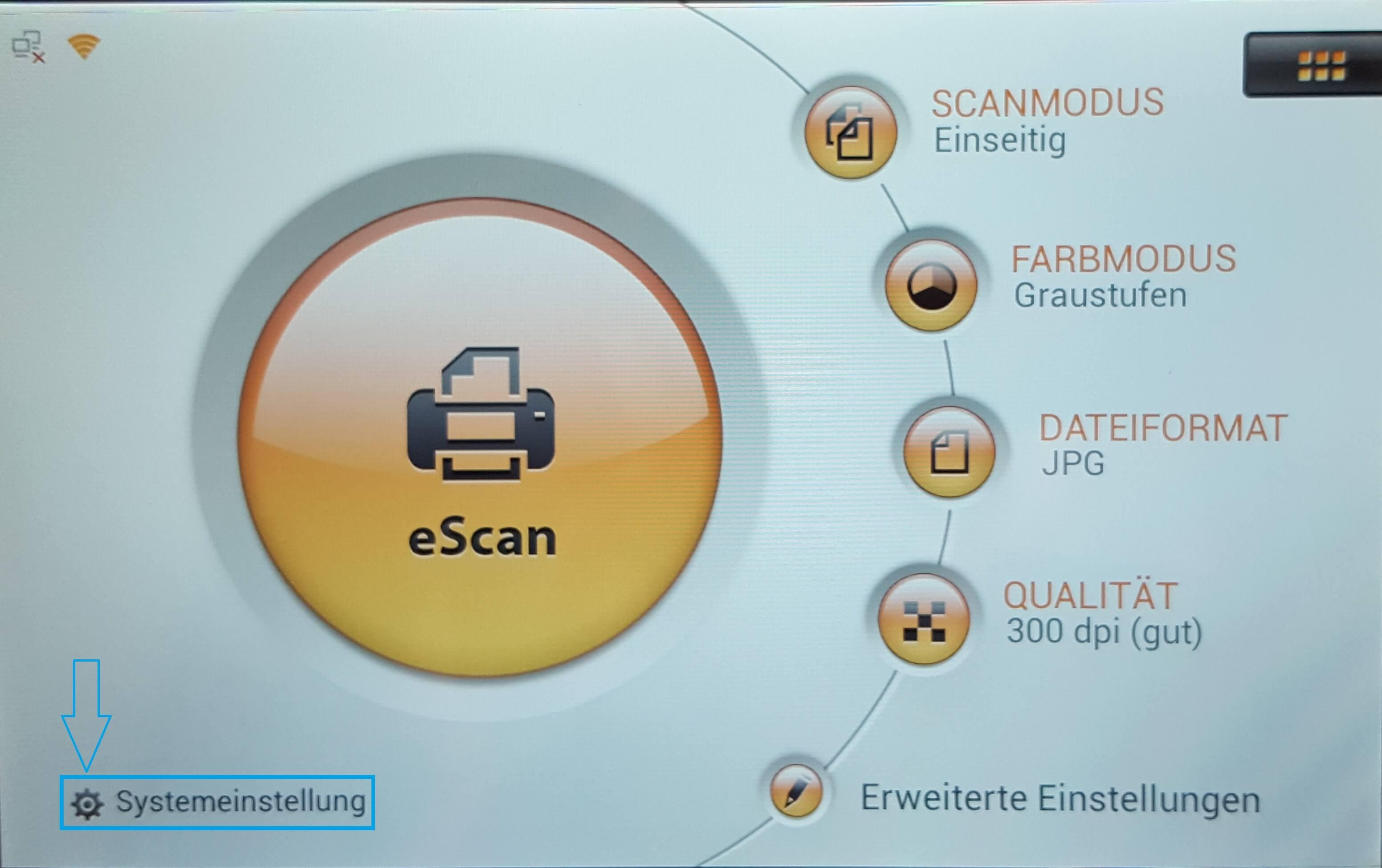 Übersicht Scanner