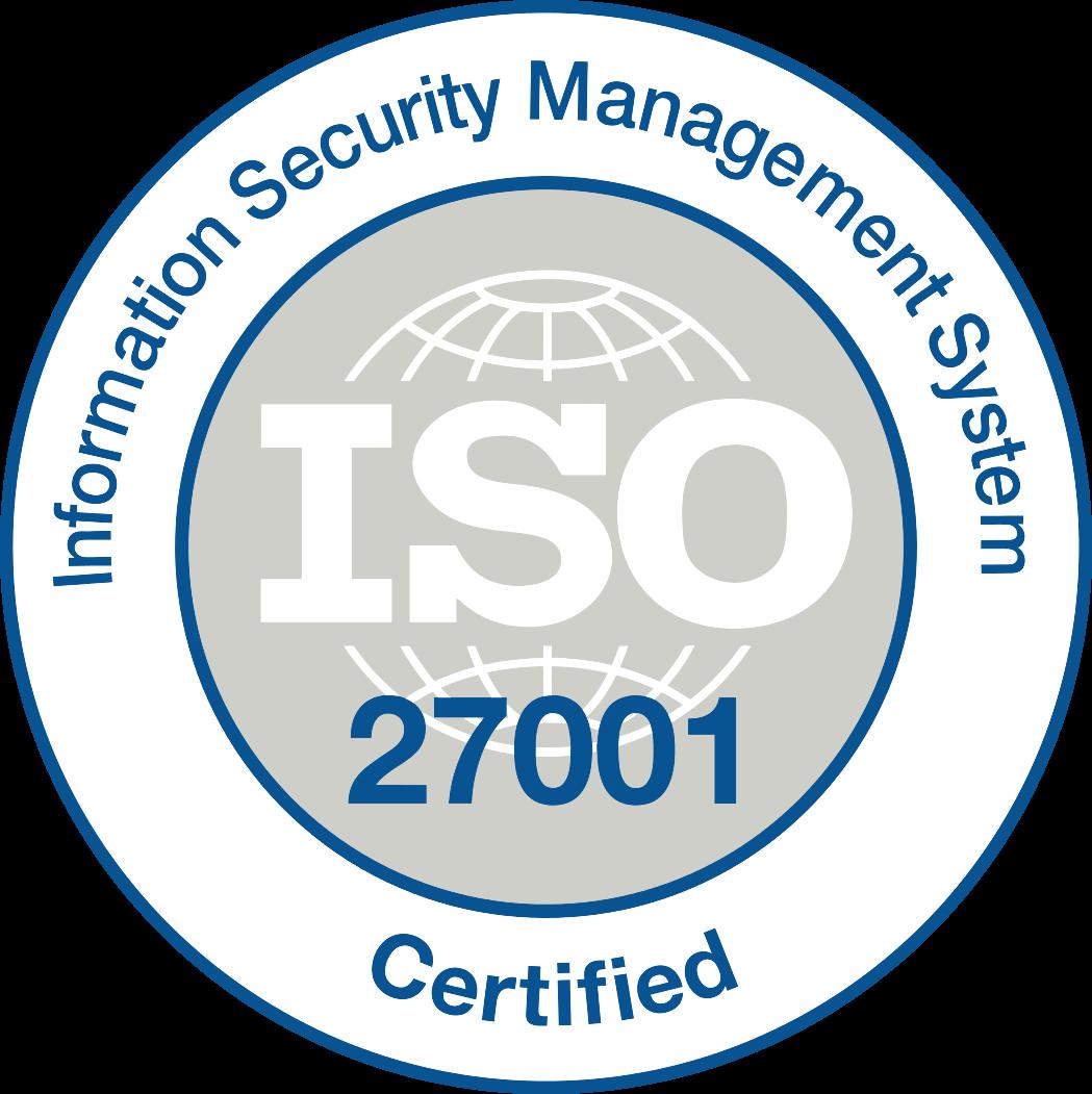 ISO zertifizierte Rechenzentren
