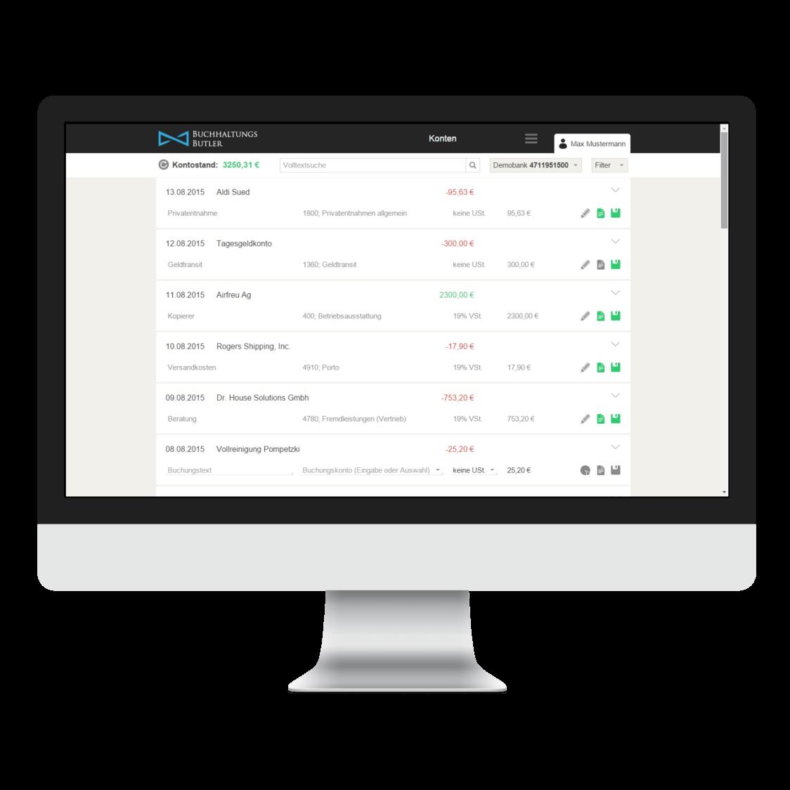 Online Buchhaltung für Startups und Freiberufler