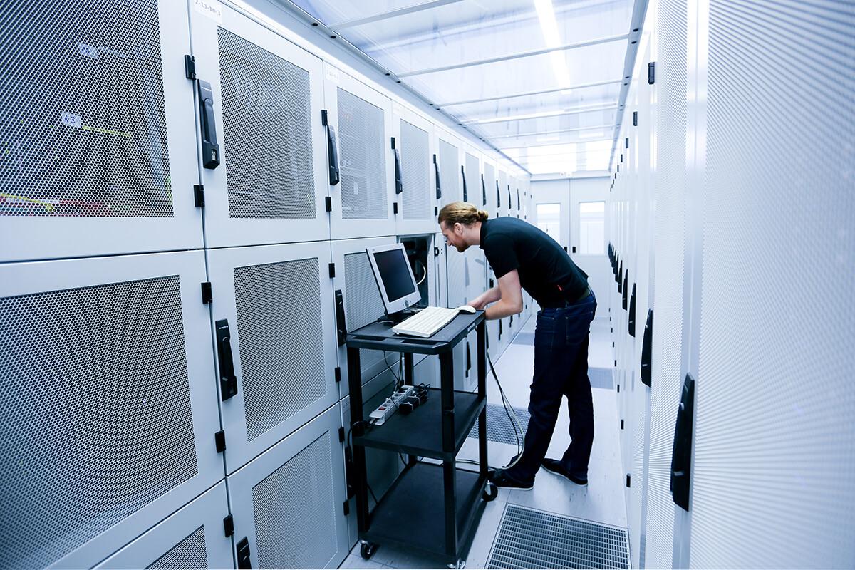 Rechenzentrum mit höchster Datensicherheit für Ihre Online Buchhaltung