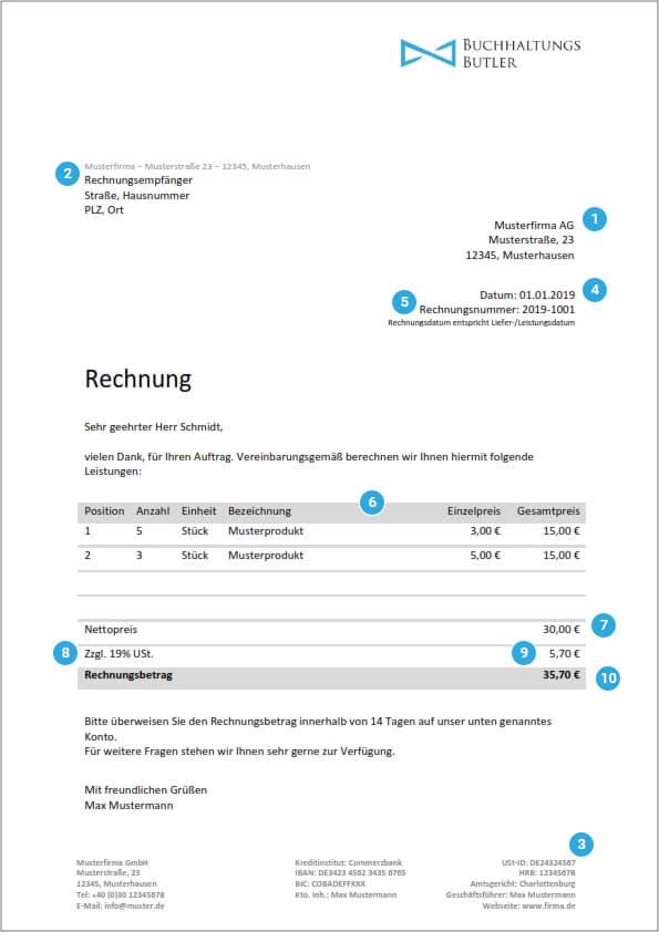 Rechnungsvorlagen Kostenlos Rechnungsvorlage Fur Jeden Zweck 11