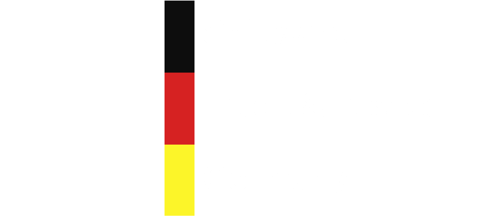 Software made and hosted in Berlin